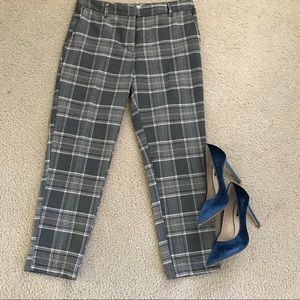 H&M checkered pants.