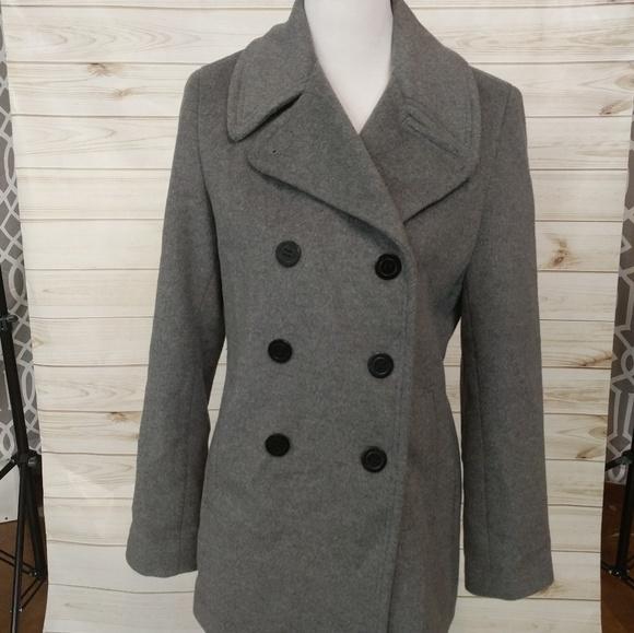 Calvin Klein Jackets & Blazers - Calvin Klein Wool Peacoat