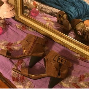 Cute ankle cuff heels