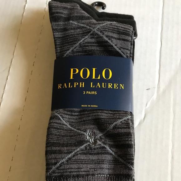 Polo Ralph Lauren Men navy blue sea captain dress socks size 10-13