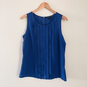 Banana Republic Tops - Banana republic woman's ruffle blue top