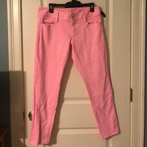 Lilly Pulitzer - Pink Worth Skinny Mini Jeans, 10