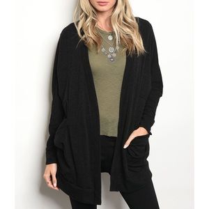 | COZY OVERSIZED CARDIGAN |