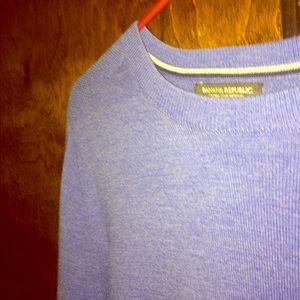 Banana Republic Sweater Blue