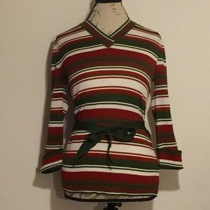 Vintage Tie Around Shirt