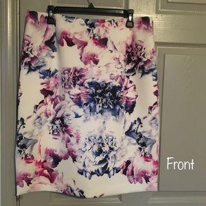 Pencil skirt- lined- Antonio Melani size 14