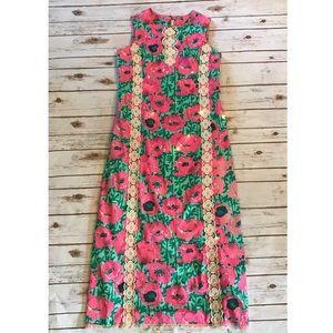 Vintage Lilly Pulitzer maxi dress!!