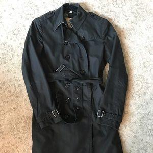 Burberry Brit black trench coat