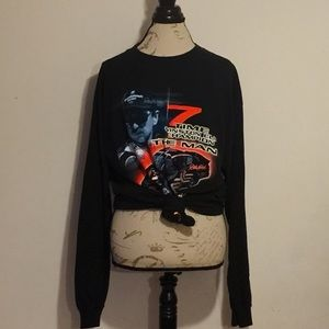 Oversized Dale Earnhardt Long Sleeve Tshirt