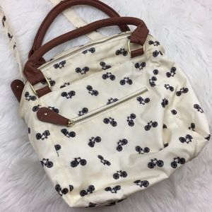 🎃Old Navy Bicycle Print Hobo Slouch Purse