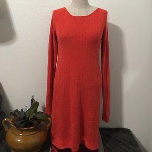 Free People Bodycon Knit Sweater Dress Sz M