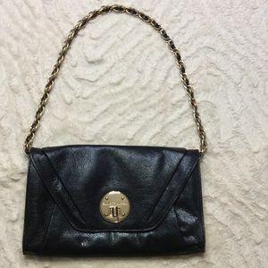 Elliot Lucci black clutch or shoulder purse
