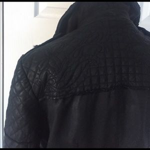 Muubaa Jackets & Coats - Muubaa Minsk Embroidered Leather Jacket UK10 US6