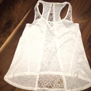 Girls Abercrombie Lace Tank