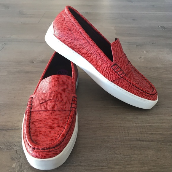 50408b2a474 RAG   BONE ~ women s Colby red loafer driving shoe