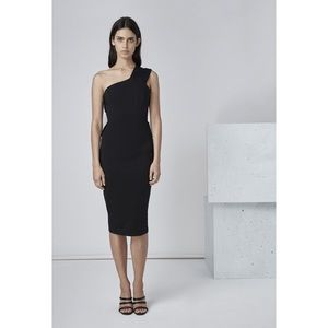 New with Tags Finders Keepers One-Shoulder Dress