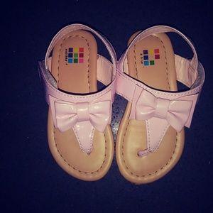 Healthex Girls Pink Sandals