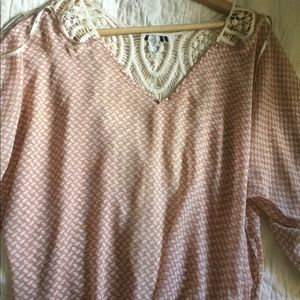 Urban Outfitters Tops - Crochet Knit open back blouse.