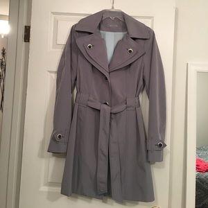 Calvin Klein Raincoat w/hood size M