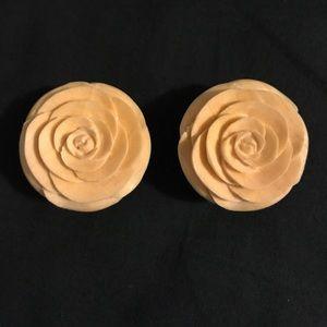 Wooden rose plugs/gauges