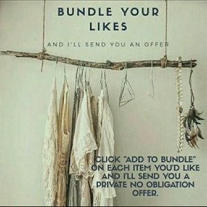 Add listing to a bundle I'll send private offer!