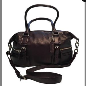 NWT Cole Haan Black Leather Satchel