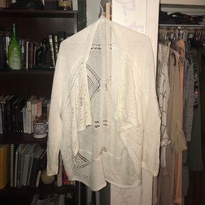 I am selling a Max Studio white cardigan.