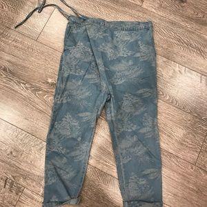 Harem jeans pants