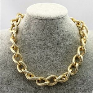 Coming Soon. Chunky Gold Chain Necklace
