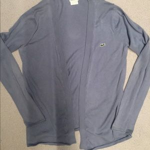 Periwinkle Lacoste Sweater