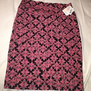 LuLaRoe Cassie skirt, Size XL, brand new with tags