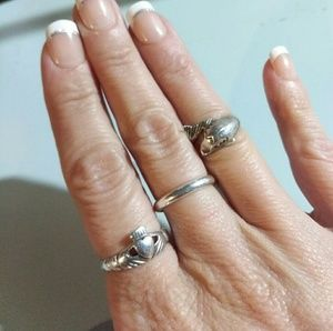 Jewelry - Sterling Silver Dolphin Ring, Beautiful & Unique
