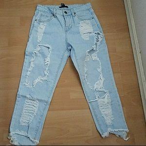 Denim - Distress jeans