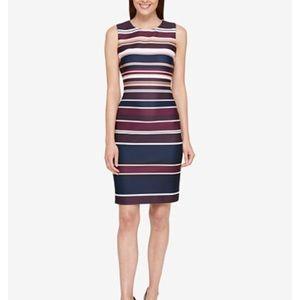 Tommy Hilfiger Striped Bandage Dress