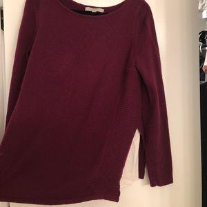 Loft Mixed Media Sweater