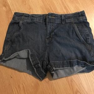Faded glory jean shorts, size 10