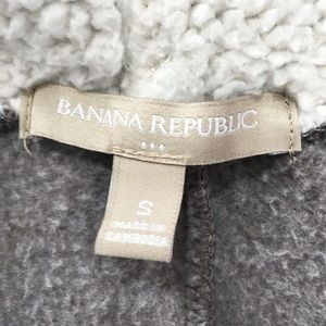 Banana Republic Tops - Banana Republic Gray Sweatshirt Hoodie Jacket