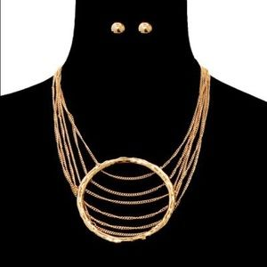 Jewelry - Chain Layered Necklace Set