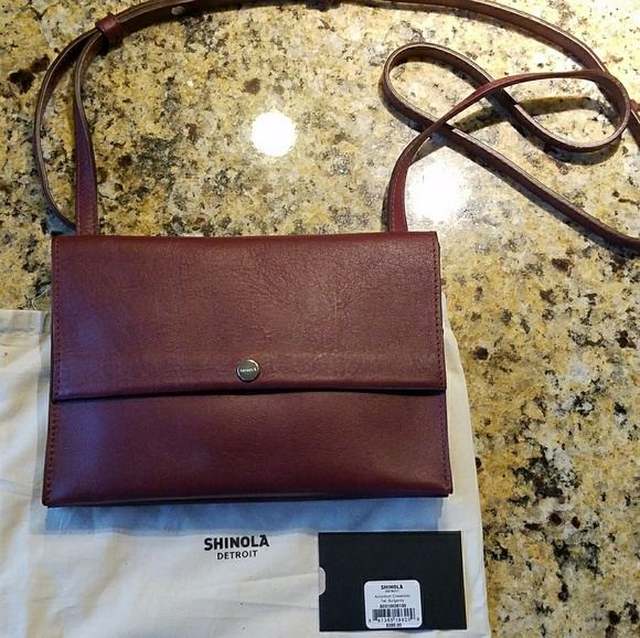 a8057fd4cf Shinola Accordion Crossbody Bag