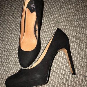 H&M black Matte heels.