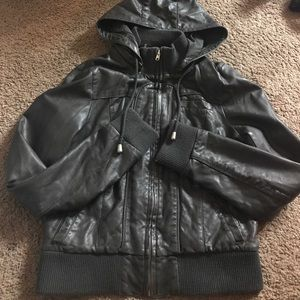 Like NEW! Sparkle and Fade bomber Jacket