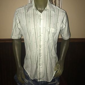 RAD Vintage 70s KMart Polyester Button Up