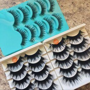 15 Pairs Dramatic Natural False Eyelashes