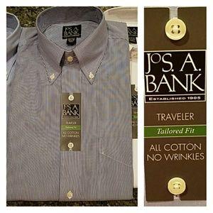 Jos. A. Bank Traveler Tailored Fit Buttondown