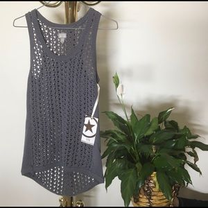 NWT Converse One Star Knit Top