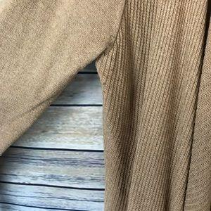 Merona Sweaters - Merona Target Tan Cognac Open Front Cardigan