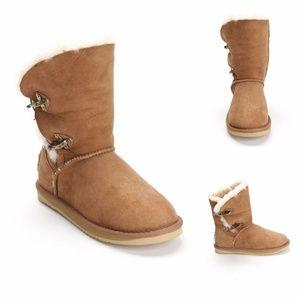 Australia Luxe Renegade Chestnut Brown Boot Sz 10