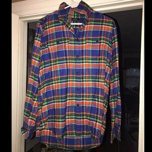 Tops - Ralph Lauren Flannel Button Up