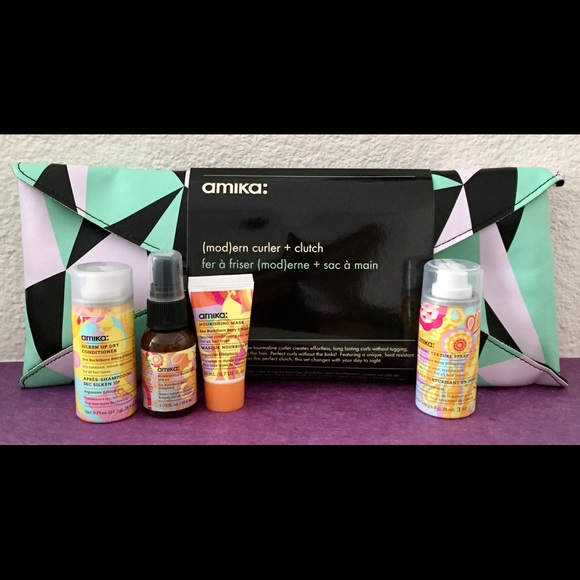 amika Other - Amika Haircare Bundle + Curler and Mod Clutch