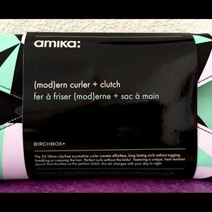 amika Makeup - Amika Haircare Bundle + Curler and Mod Clutch